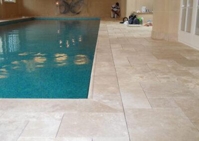 swimming-pool-travertine-stone-surround