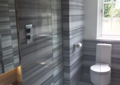 Walk In Shower, North London