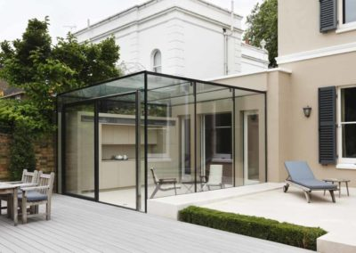 Glass Box and Terrace, South London