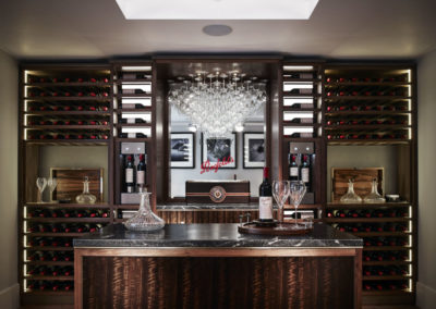 Wine room, Linley