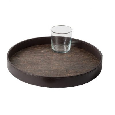 pinetti-bormio-round-stone-leather-gea-tray