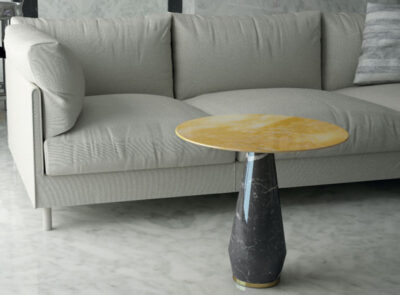round-dru-Italian-marble-side-table