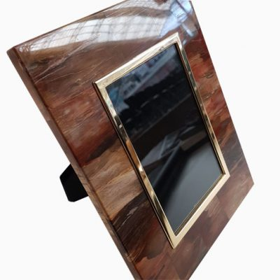 petrified-wood-semi-precious-stone-photo-frame-wedding-gift