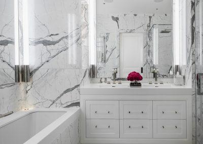 Master Bathroom, shower room & cloakroom, Belgravia