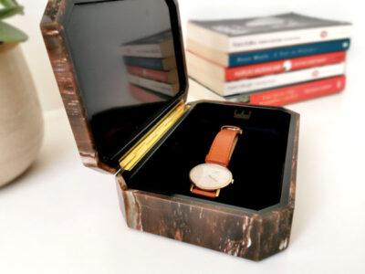 petrified-wood-semi-precious-stone-jewellery-jewelry-box-pen-box-watch-box-cigar-case-wedding-gift