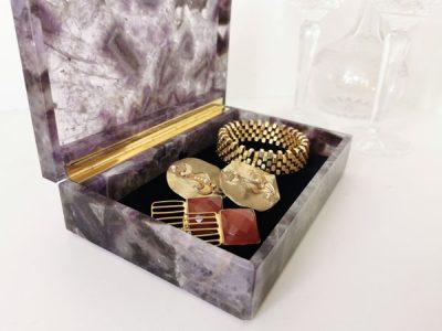 amethyst-jewellery-jewelry-box-semi-precious-stone-box-watch-box-pen-box-cigar-case-wedding-gift