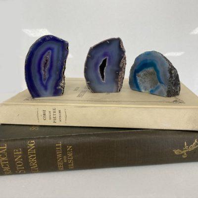 blue-agate-geode-semi-precious-stone