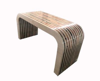 limestone-rainbow-console-table