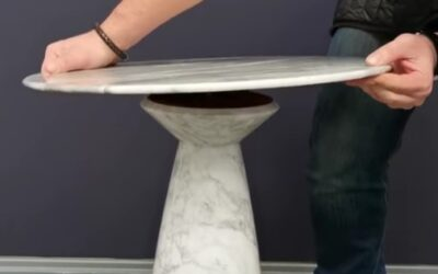 Marble tables – innovative design