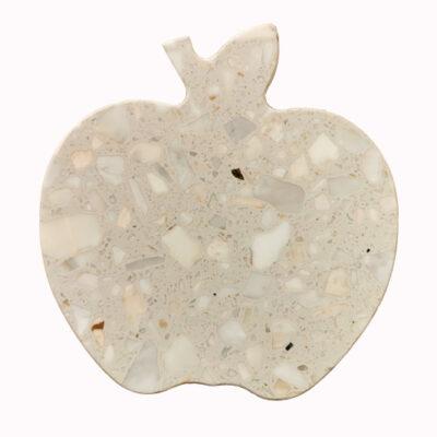 terrazzo-quartz-apple-shape-serving-chopping-board