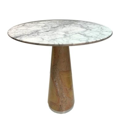round-marble-side-table